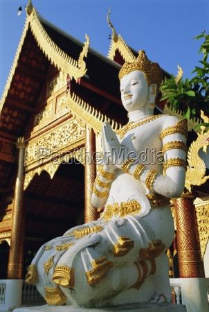 wat chiang man chiang mai thailand