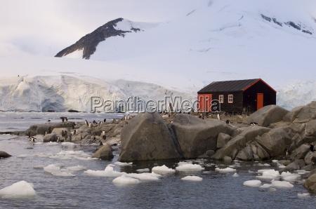 british base port lockroy antarctic peninsula