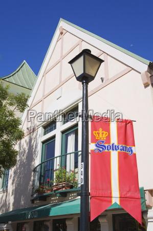 bandiera danese solvang contea di santa