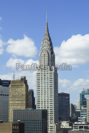 il chrysler building manhattan new york