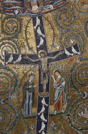 un affresco 12 secolo del