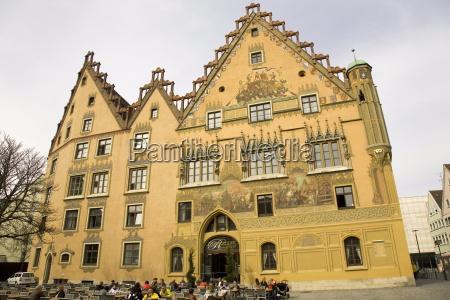 viaggio viaggiare europa orizzontale germania municipio