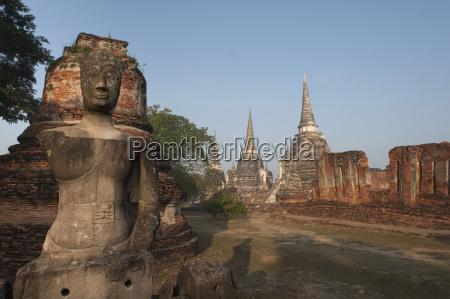 wat phra sri sanphet old buddhist