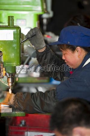 lavoratori industria tecnologica hebei provincia di