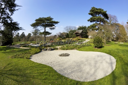 giardino botanica europa orizzontale saltare balzare