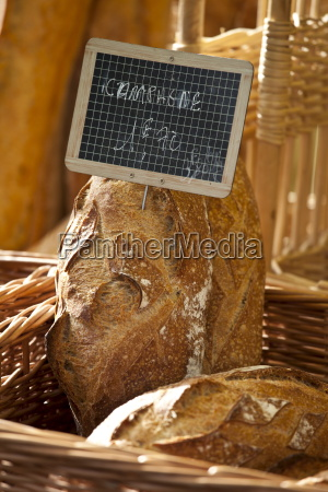 pane francese fresco pain campagne in