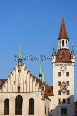 torre dettaglio europa baviera citta museo