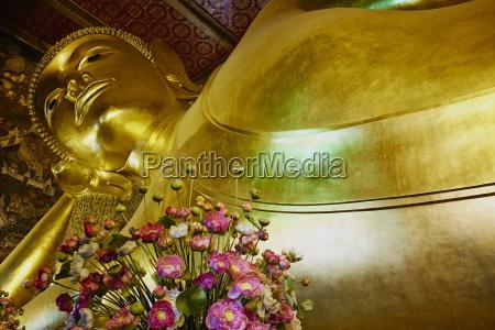 reclining buddha wat pho wat phra