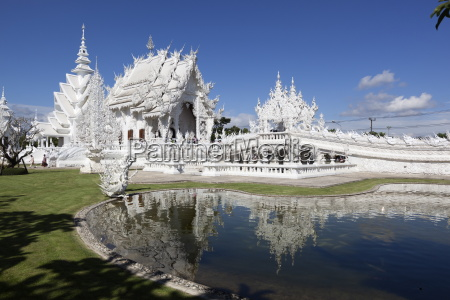 wat rong khun white temple chiang