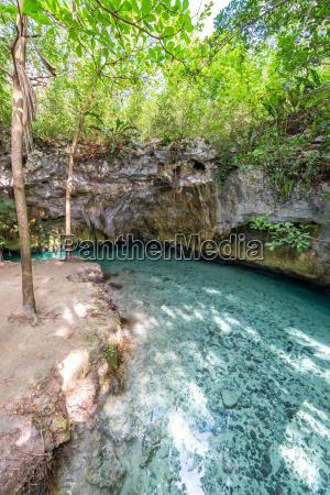 cenote vicino a tulum messico