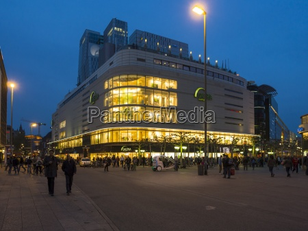 germania assia francoforte grande magazzino al