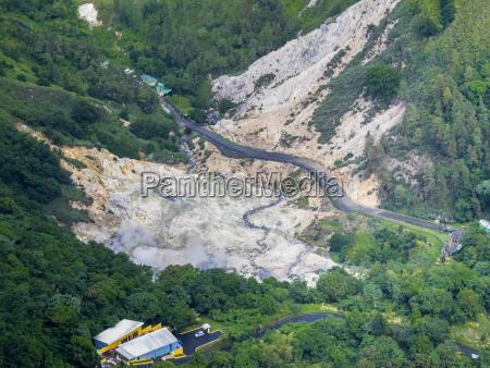 caraibi st lucia cresslands foto aerea