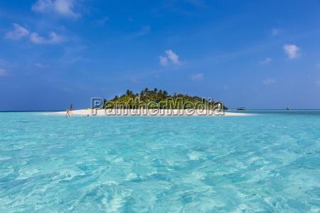 maldive sud male atoll embudu isola
