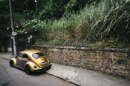 brasile rio de janeiro golden vintage