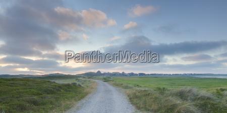 germania vista del paesaggio con pista