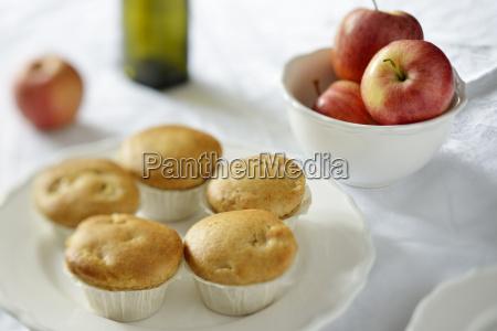 biscotto frutta piatto fotografia foto al