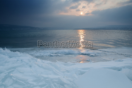 germany view of lake constance during