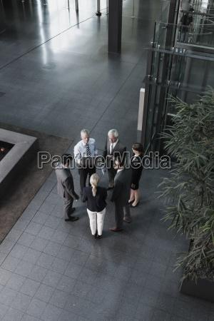 gruppo di persone di affari con