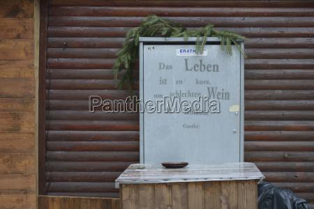 scrivere legno chiuso tipografia germania metallo