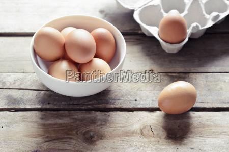 marrone freschezza fotografia foto pacchetto uovo