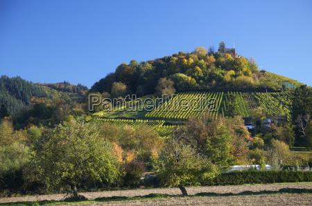 germany baden wuerttemberg castle ruin staufen
