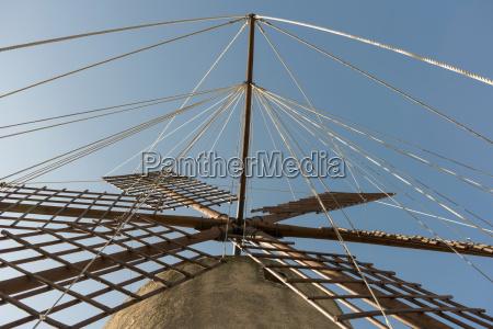 spain mallorca sineu wind mill
