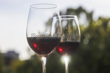 bicchiere bere relax vino riflesso vino