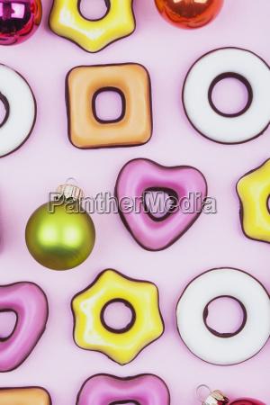 biscotti di natale e palline