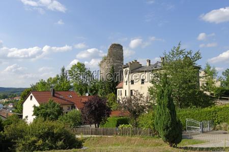 germany bavaria schambach valley ruin