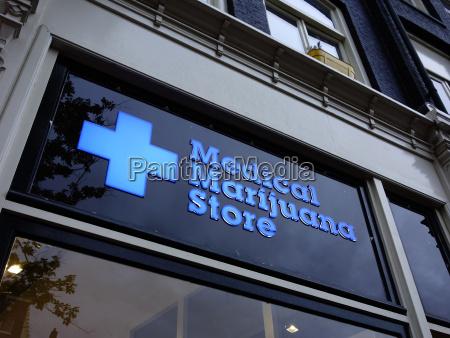 niederlande holland amsterdam medical marijuana store