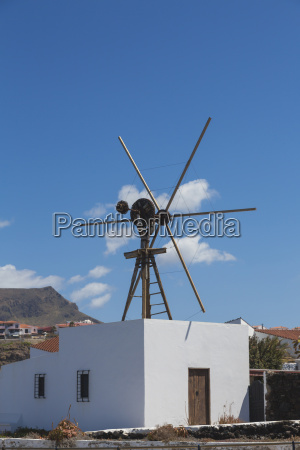 spain view of wind mill at