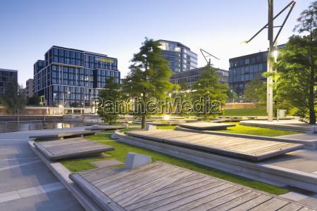 germany hamburg hafencity modern architecture at