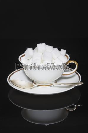 bicchiere dolce riflesso freschezza zucchero tazzina