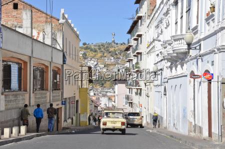 ecuador quito vista della vita cittadina