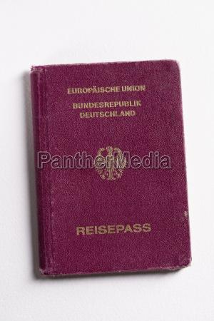 europa germania fotografia foto tedesco passaporto
