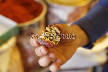 turchia gaziantep pistacchi in data