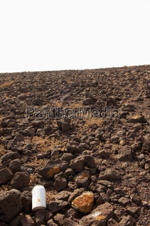 spagna fuerteventura parte del paesaggio vulcanico