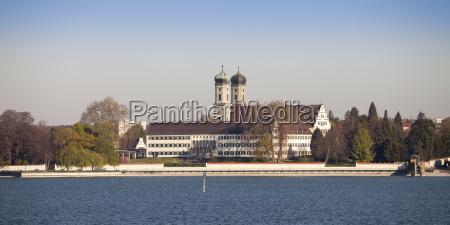 germany baden wuerttemberg friedrichshafen view to