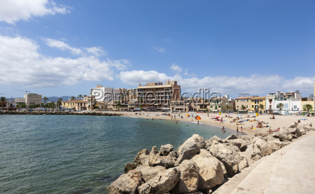 spain mallorca view of people at