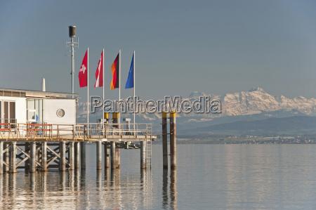 germany hagnau lake constance view of