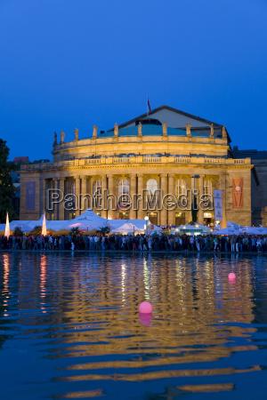 germania baden wuerttemberg stoccarda opera house