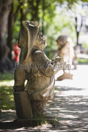 arte parco statua scultura austria europa