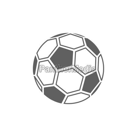 icona della palla da calcio su