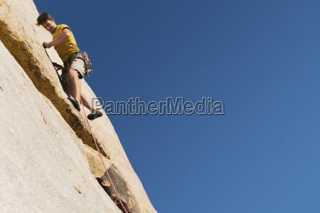 man, climbing, on, cliff - 21393725