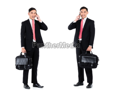 asian business man isolated professional