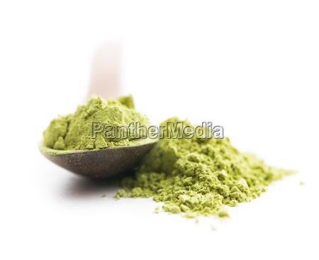 polvere di te matcha verde
