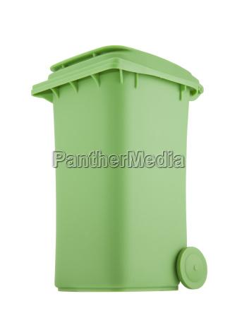 chiudere oggetto bio ambiente rilasciato cestino