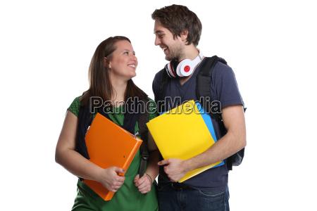 gli studenti che studiano lamore delle