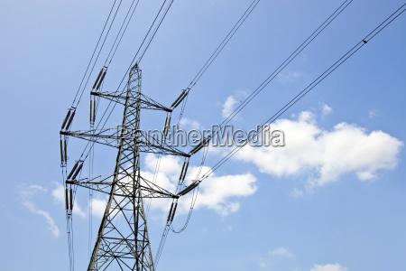 torre nuvola europa potenza elettricita energia