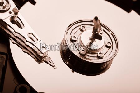 disco rigido del computer convenzionale hdd